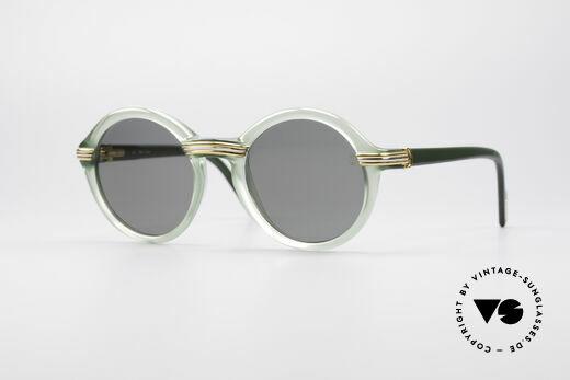 Cartier Cabriolet Round Luxury Shades Details