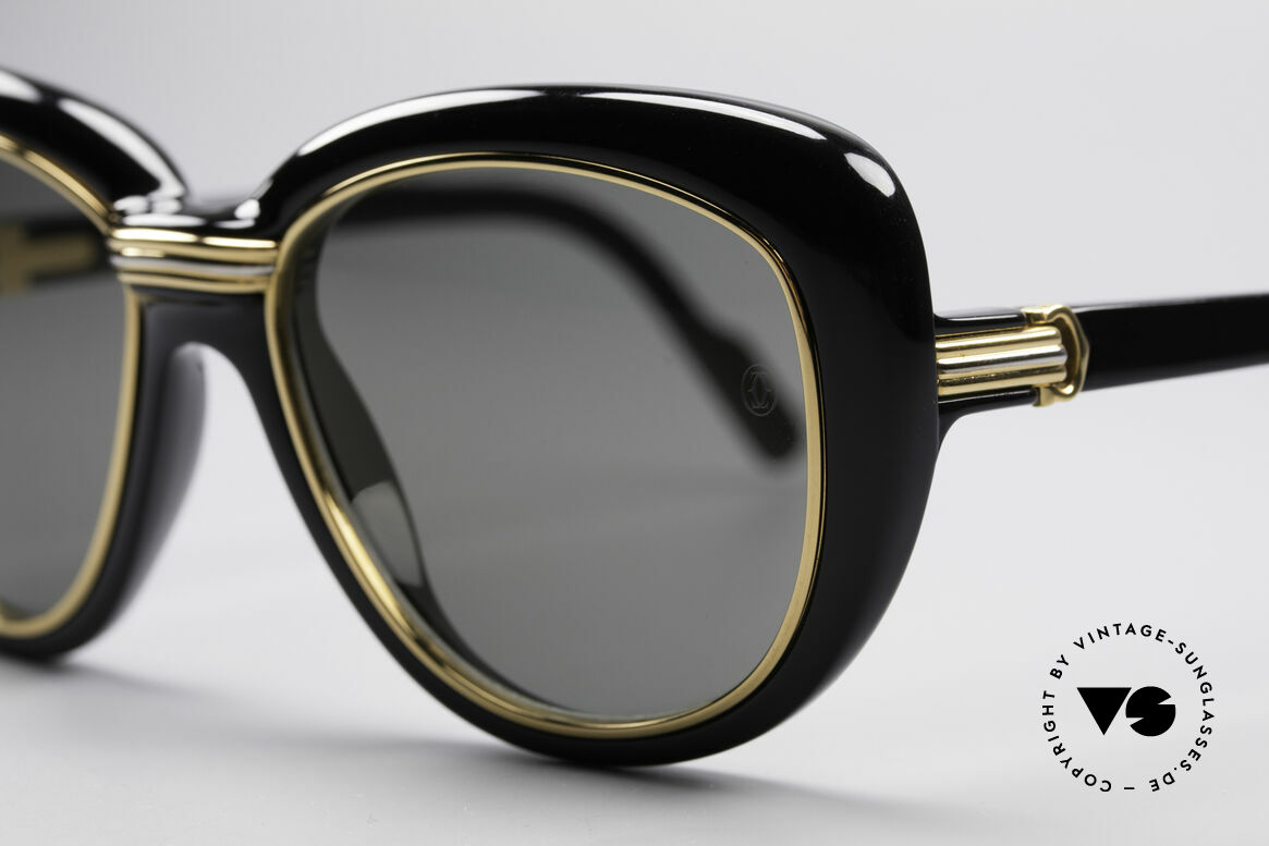 Cartier Conquete Ladies Luxury Shades, high-end original lenses with CARTIER logo (100% UV), Made for Women