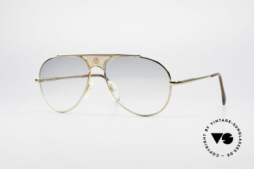 St. Moritz 401 Rare Jupiter Sunglasses Details