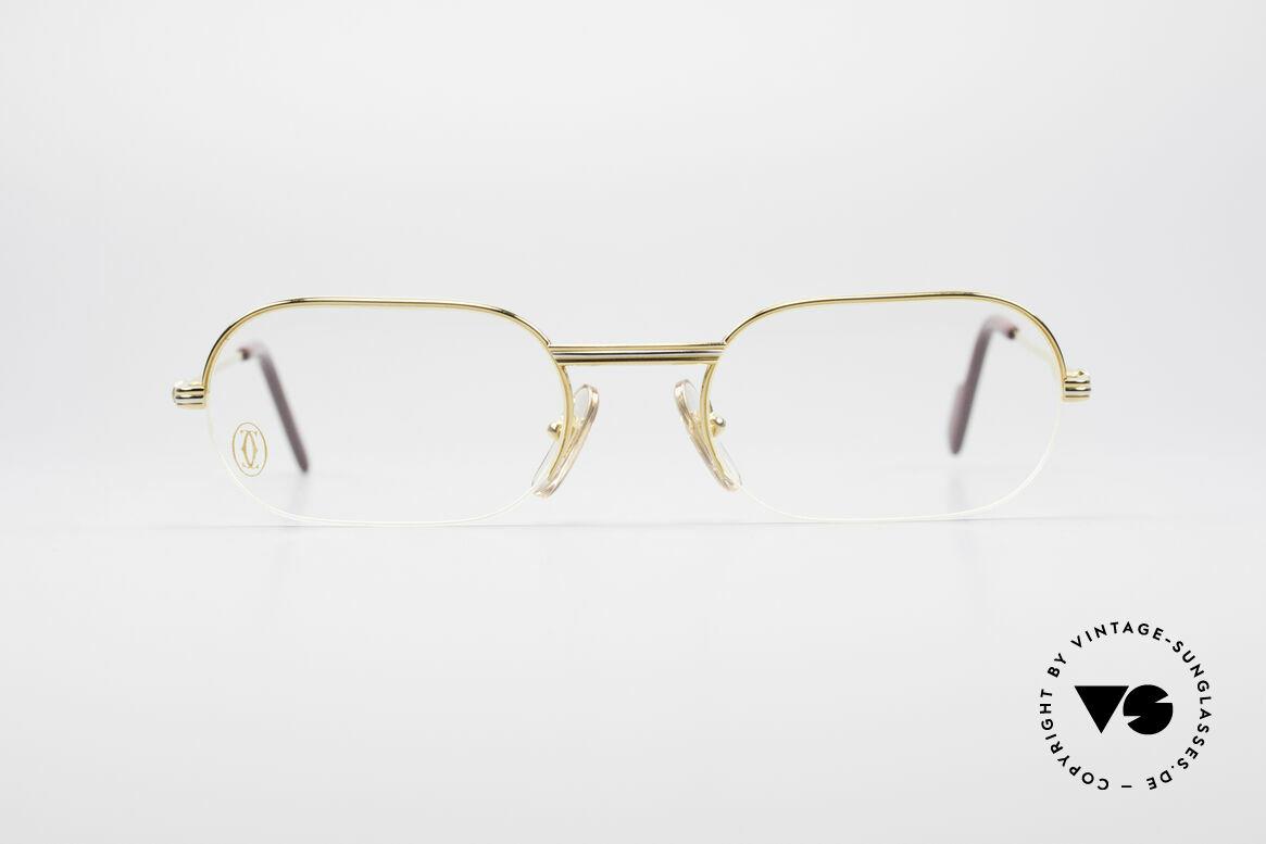 Cartier Ascot Semi Rimless Eyeglasses