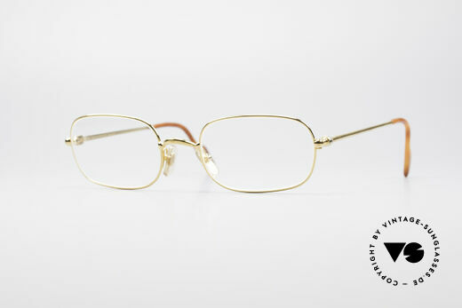 Cartier Deimios 90's Luxury Eyeglasses Details