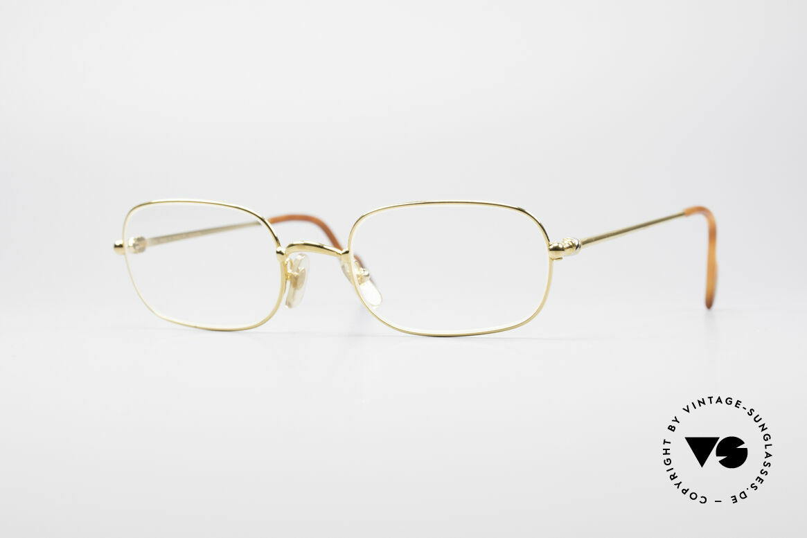 Cartier Deimios 90's Luxury Eyeglasses, fine vintage CARTIER eyeglasses from the late 1990's, Made for Men