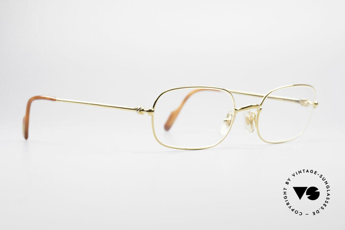 Cartier Deimios 90's Luxury Eyeglasses, flexible lightweight frame (1st class wearing comfort), Made for Men