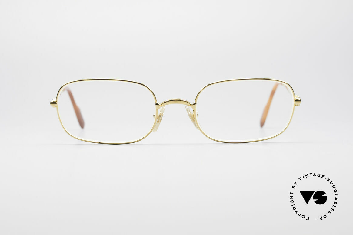 Cartier Deimios 90's Luxury Eyeglasses, Deimios = model of the Cartier 'Thin Rim' Collection, Made for Men