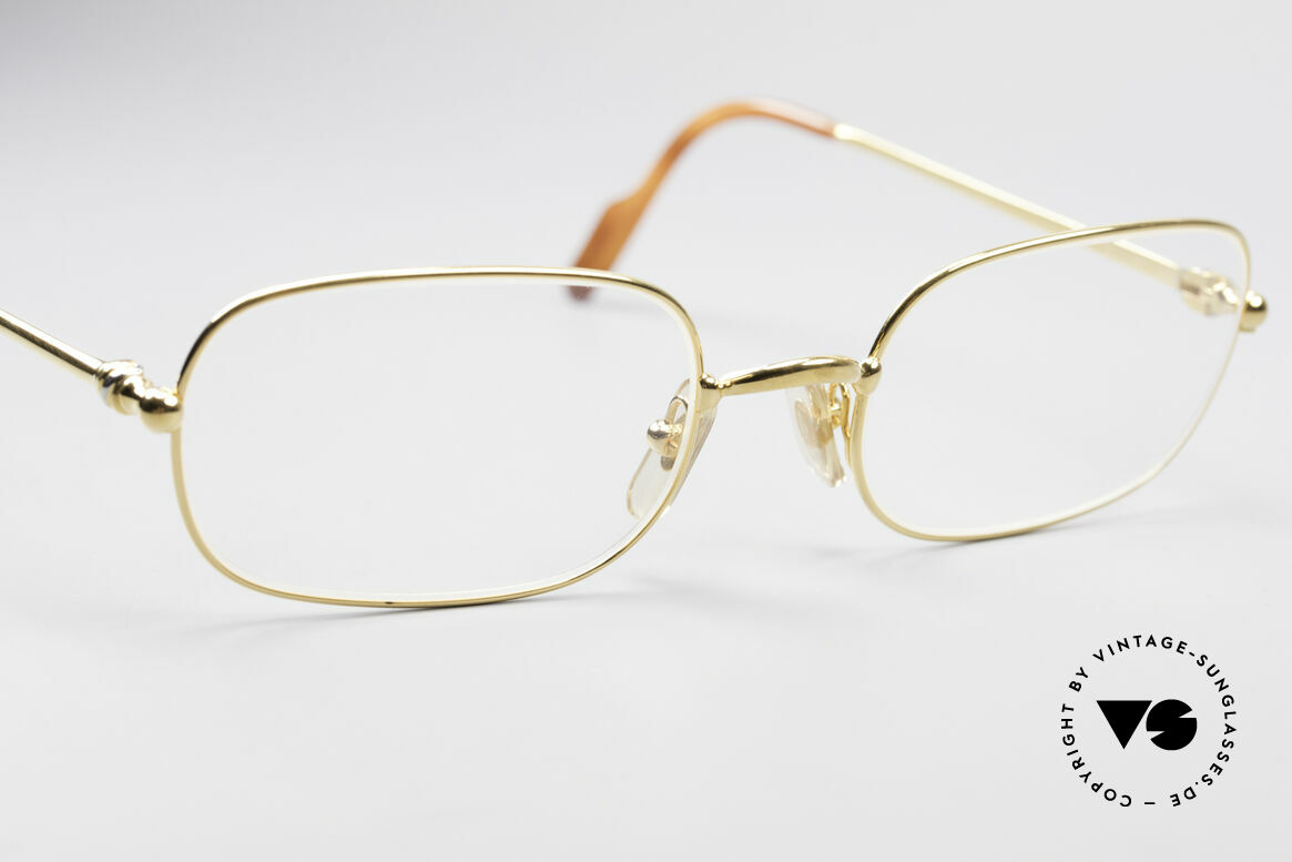 Cartier Deimios 90's Luxury Eyeglasses, precious & timeless design in LARGE size 54-21, 140, Made for Men
