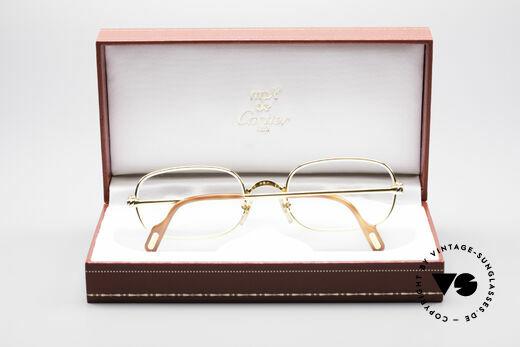 Cartier Deimios 90's Luxury Eyeglasses, NO retro eyewear, but a 20 years old Cartier Original, Made for Men