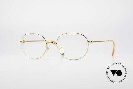 Cartier Antares Round 90's Luxury Frame Details