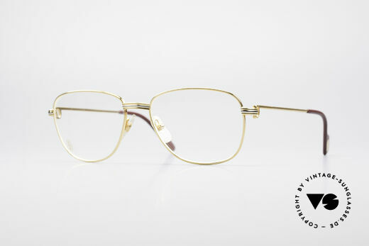 Cartier Courcelles 90's Luxury Vintage Specs Details