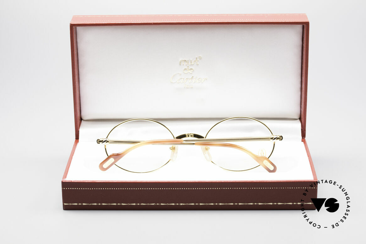 Cartier Sorbonne Oval Luxury Eyeglasses