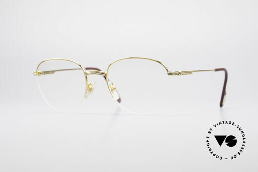 Cartier Colisee Round Luxury Eyeglasses Details