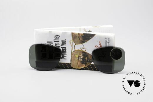 Ray Ban Wayfarer I Lenses B&L USA Mineral Lens Details