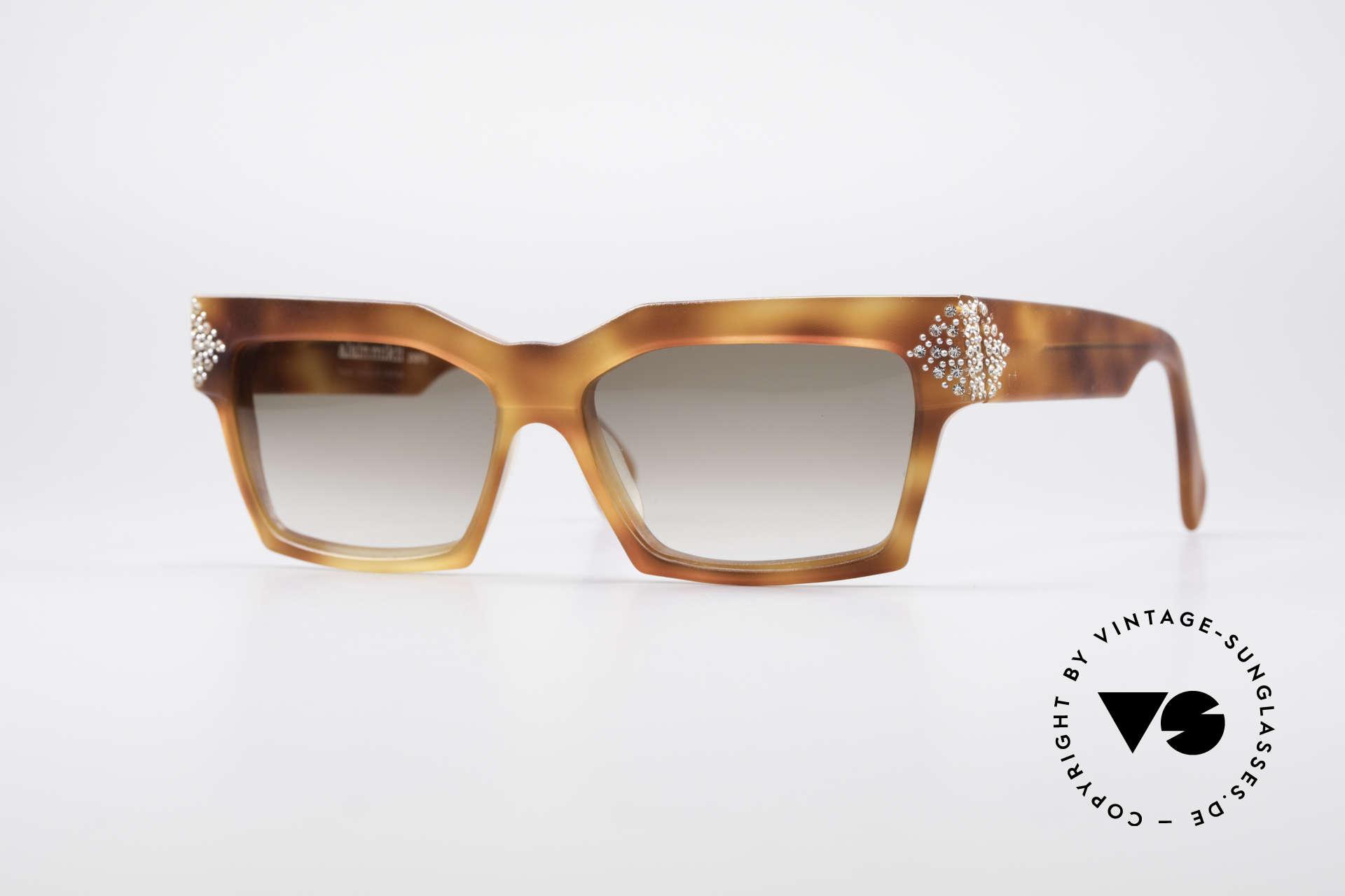 Alain Mikli 318 / 053 80's Gem Designer Sunglasses, oversized french designer sunglasses by ALAIN MIKLI, Made for Women