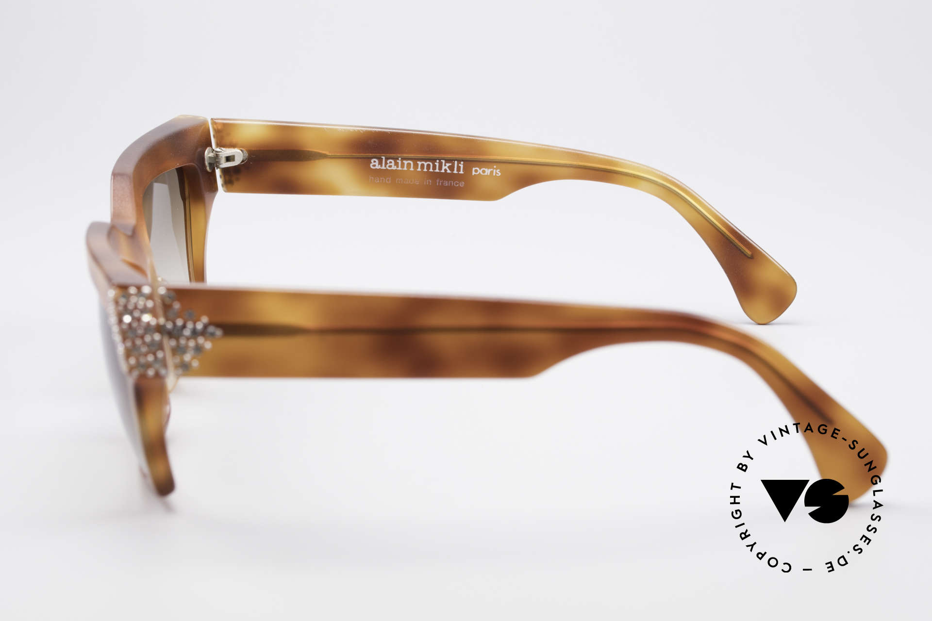 Alain Mikli 318 / 053 80's Gem Designer Sunglasses, unworn; one of a kind (like all our rare vintage shades), Made for Women