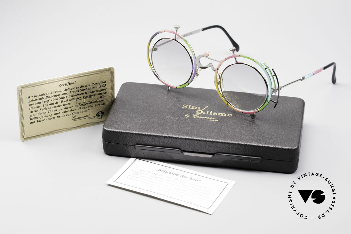 Casanova SC3 Simbolismo Standstill of time, NOS - unworn (like all our LIMITED vintage sunglasses), Made for Men and Women