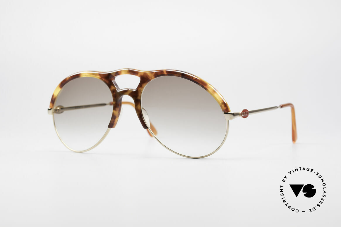 Bugatti 64900 Tortoise Optic 80's Glasses