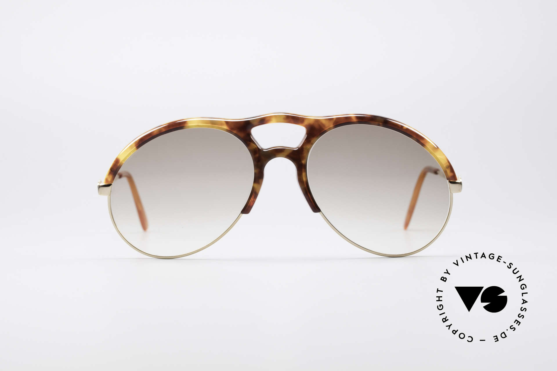 Bugatti 64900 Tortoise Optic 80's Glasses, noble tortoise-optic (true rarity from the early 80's), Made for Men