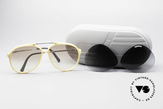 Carrera 5594 80s Shades Extra Lenses, unworn (like all our rare vintage Optyl Carrera eyewear), Made for Men and Women