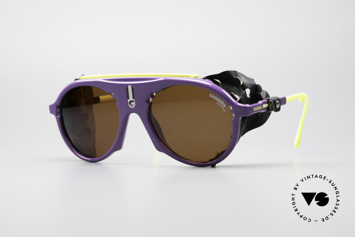 Carrera 5436 Water & Ice Glacier Glasses, vintage sports and glacier sunglasses by CARRERA, Made for Men and Women
