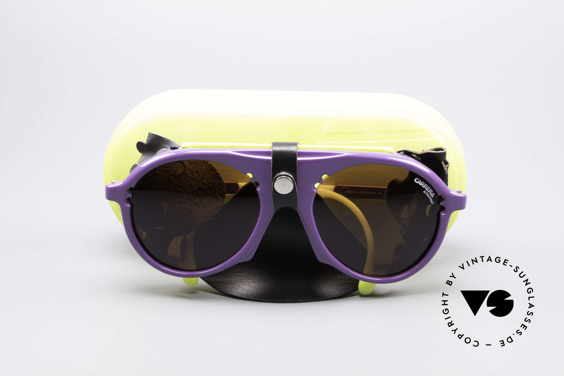 Carrera 5436 Water & Ice Glacier Glasses, NO retro shades; a rare old 80's original (incl. case), Made for Men and Women