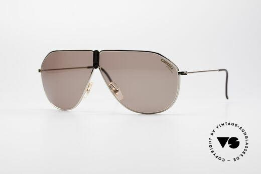 Carrera 5437 90er Designer Sonnenbrille Details