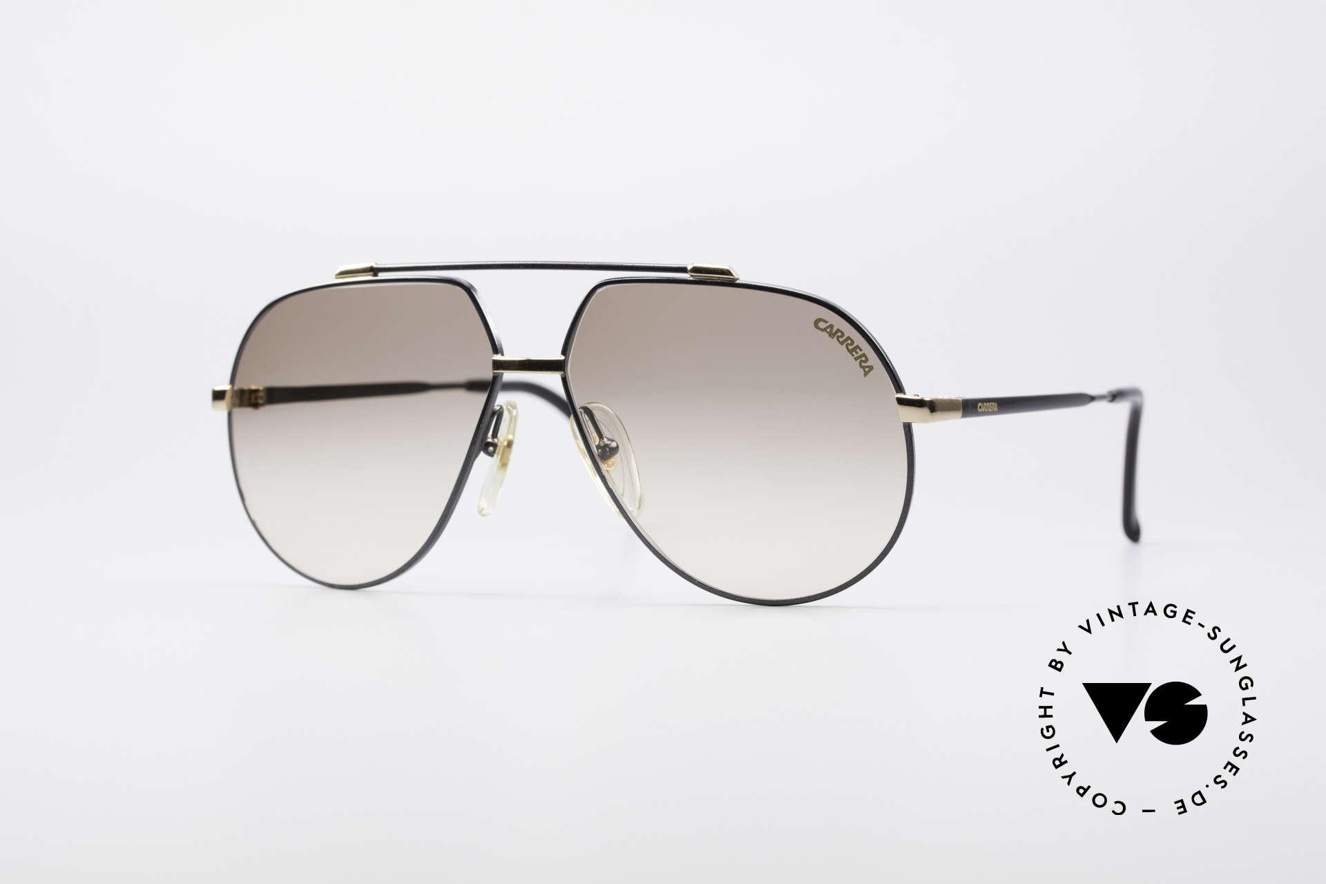Carrera 5369 90's Men's Sunglasses, vintage sunglasses by CARRERA with double bridge, Made for Men