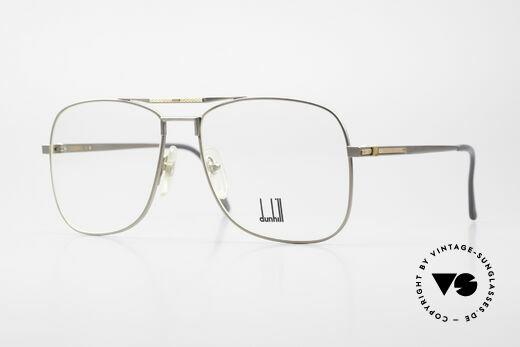 Dunhill 6038 18kt Gold Titanium Frame 80's Details