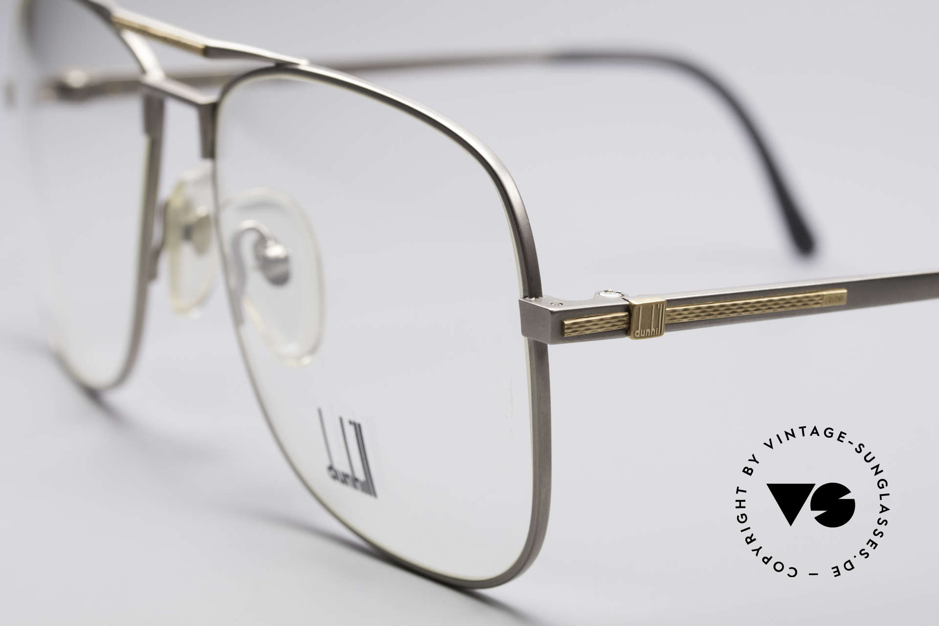 Dunhill 6038 18kt Gold Titanium Frame, (today, designer frames are made for less than 5 USD), Made for Men