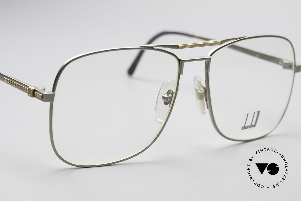 "Dunhill 6038 18kt Gold Titanium Frame, genuine vintage ""must-have"" of incredible top-quality!, Made for Men"