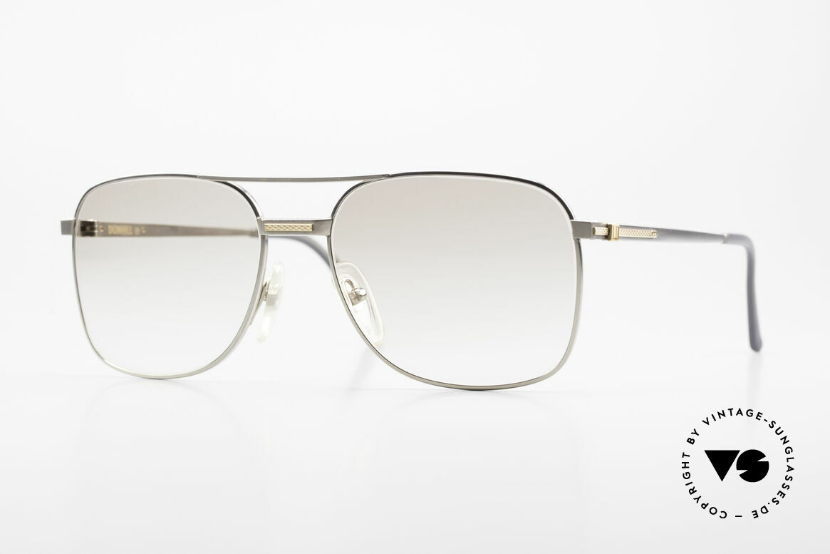 Dunhill 6066 18kt Gold Titanium Glasses, this Dunhill model is at the top of the eyewear sector, Made for Men