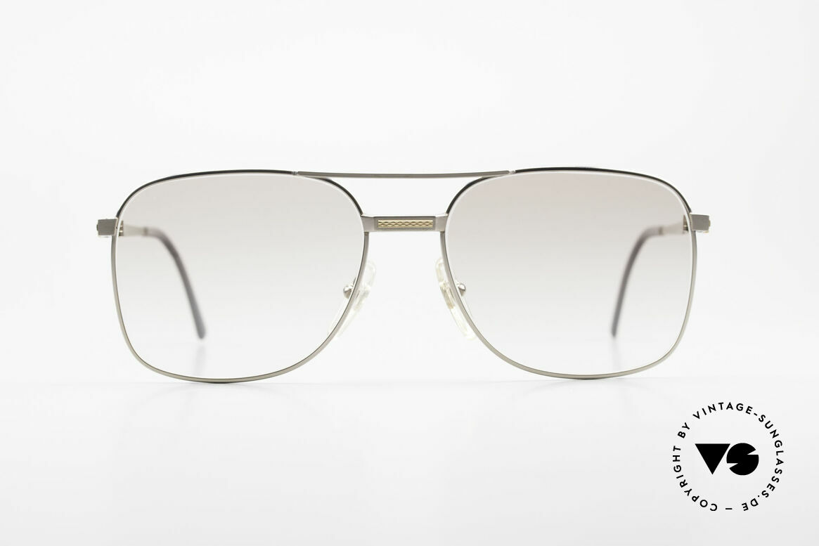 Dunhill 6066 18kt Gold Titanium Glasses, A. DUNHILL Titanium frame with 18kt gold ornaments, Made for Men