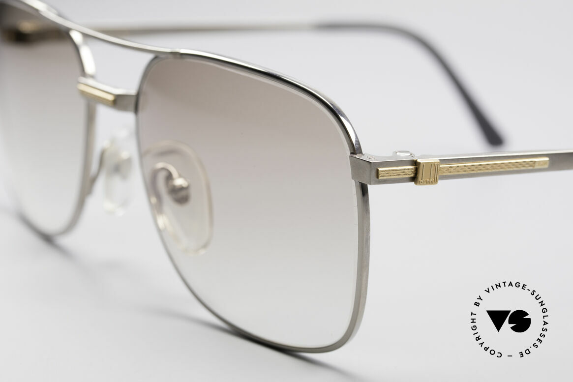 Dunhill 6066 18kt Gold Titanium Glasses, (today, designer frames are made for less than 5 USD), Made for Men