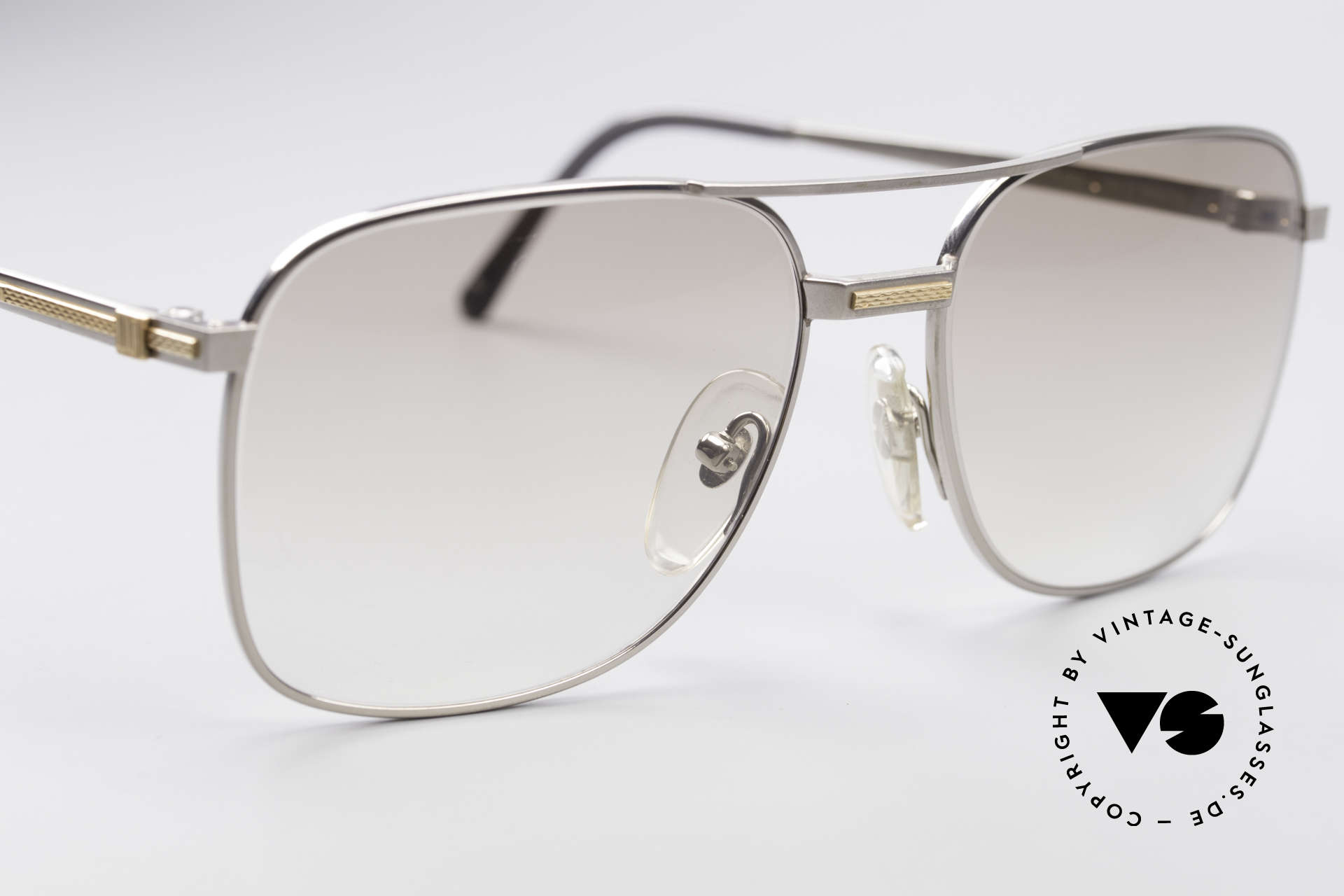 """Dunhill 6066 18kt Gold Titanium Glasses, genuine vintage """"must-have"""" of incredible top-quality!, Made for Men"""