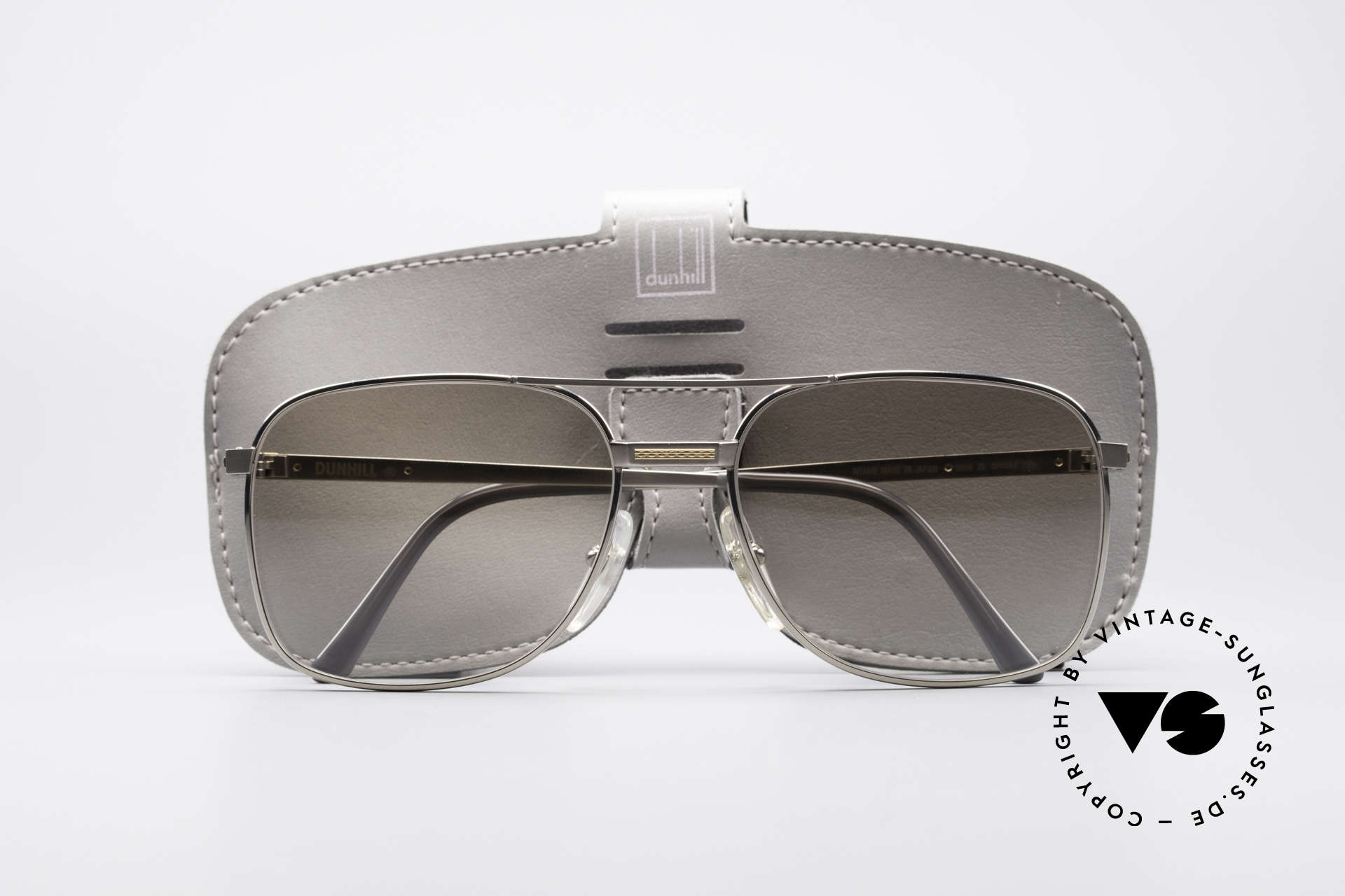 Dunhill 6066 18kt Gold Titanium Glasses, a precious unworn ORIGINAL with parts of pure GOLD, Made for Men
