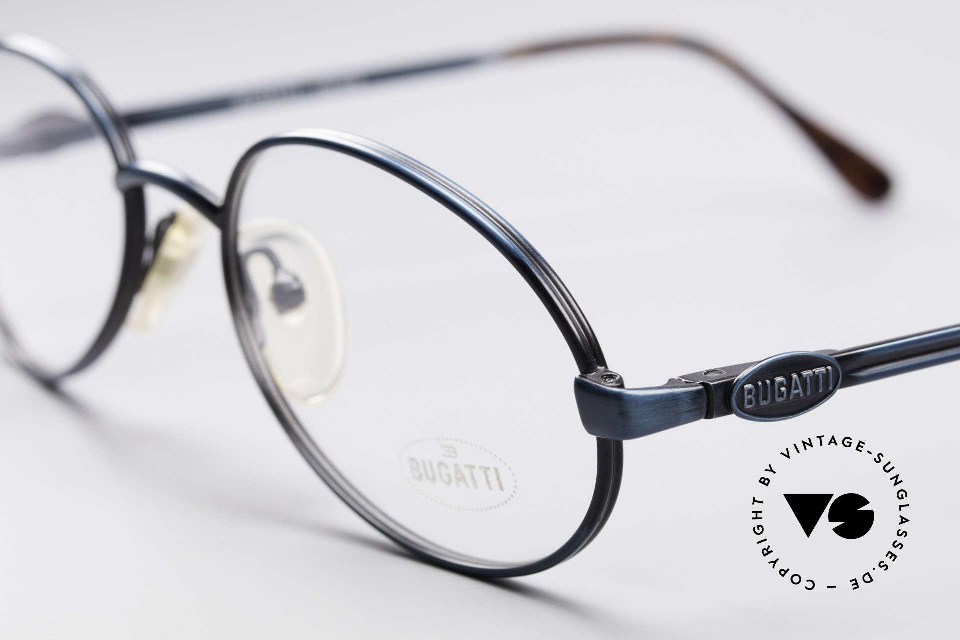 Bugatti 05728 Rare 90's Eyeglasses, 1st class wearing comfort & top-notch craftsmanship, Made for Men
