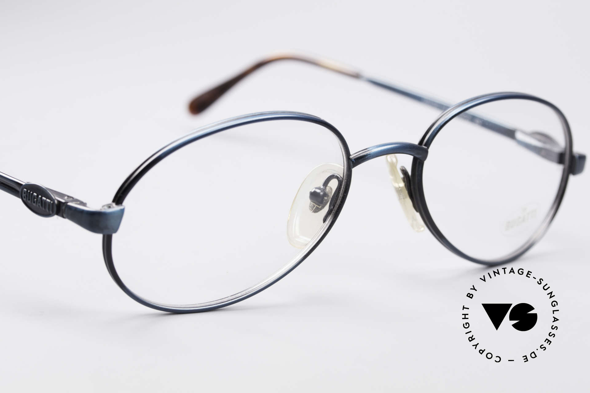 Bugatti 05728 Rare 90's Eyeglasses, unworn (like all our rare vintage Bugatti 90s eyewear), Made for Men