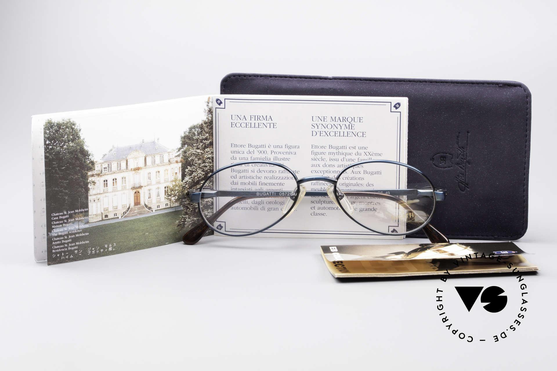 Bugatti 05728 Rare 90's Eyeglasses, NO RETRO EYEGLASSES, but a precious old ORIGINAL, Made for Men