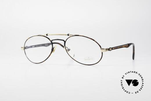 Bugatti 16957 Rare 80's Eyeglasses Details