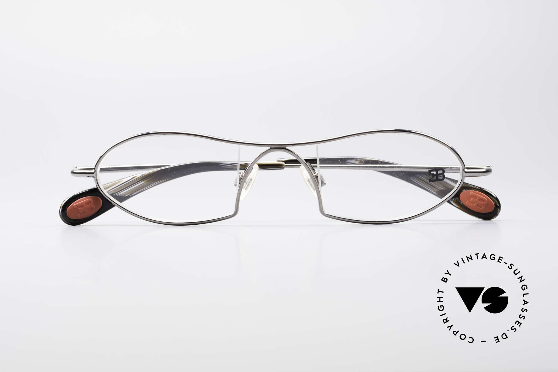 Bugatti 351 Odotype Rare Men's Designer Frame, very special lens construction; TOP comfort, Made for Men