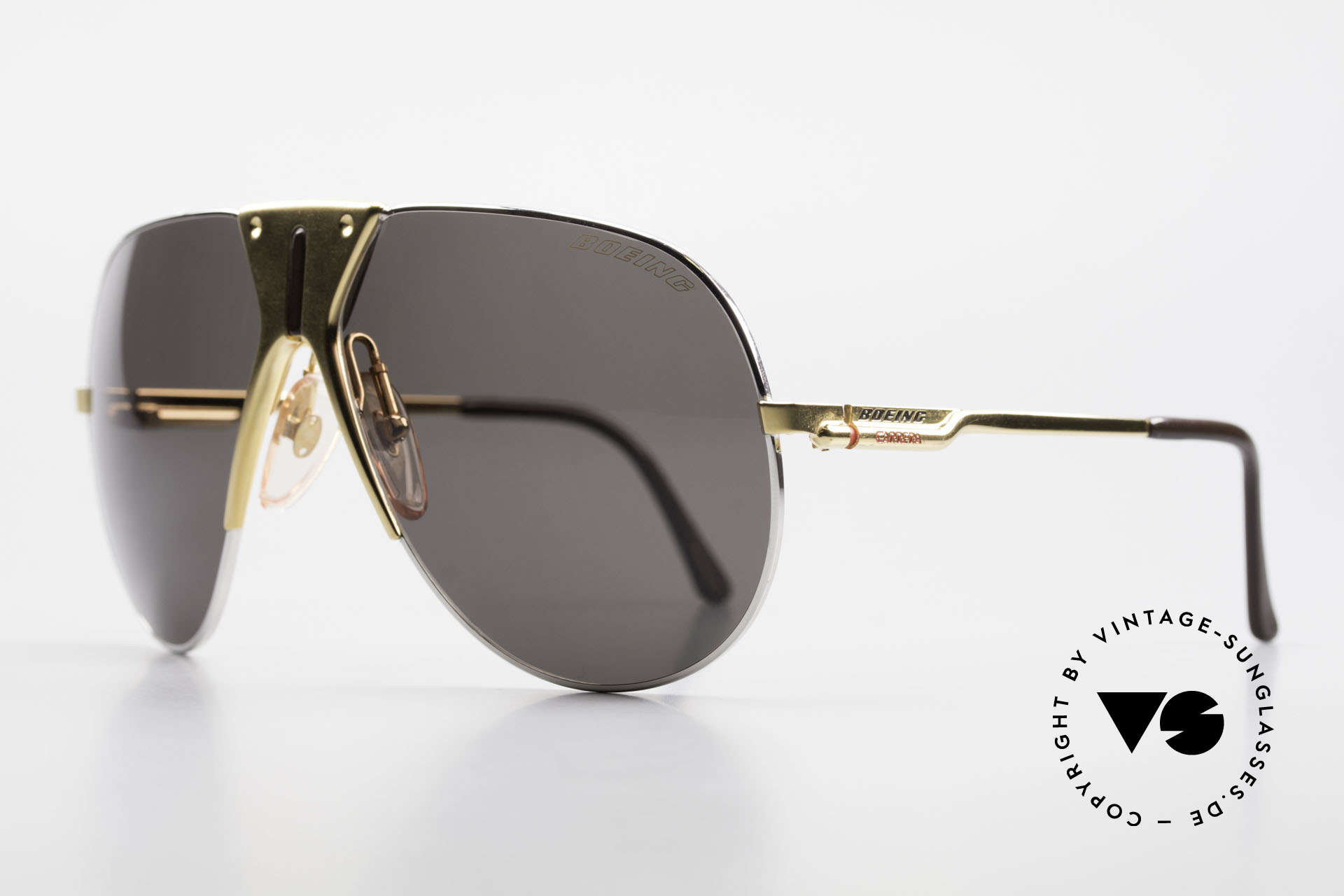 Boeing 5701 Famous 80's Pilots Shades, made by Carrera only for the BOEING pilots needs, Made for Men and Women