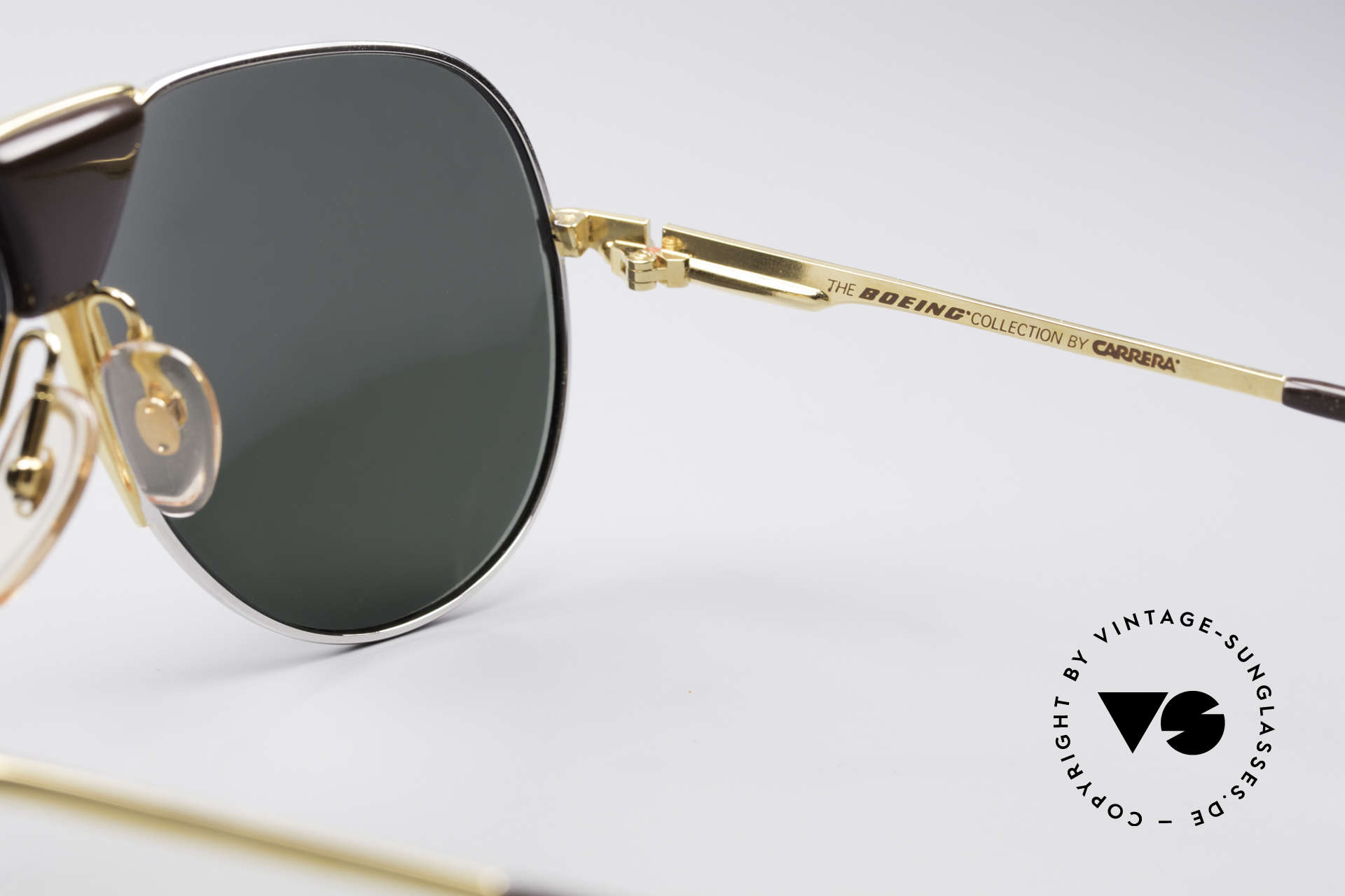 Boeing 5701 Famous 80's Pilots Shades, new old stock (like all our BOEING aviator shades), Made for Men and Women