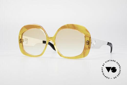 Pierre Cardin 734 XXL 70's Sunglasses Details