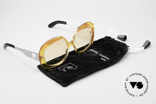 Pierre Cardin 734 XXL 70's Sunglasses, NO RETRO FASHION, but an unique OLD ORIGINAL!, Made for Women