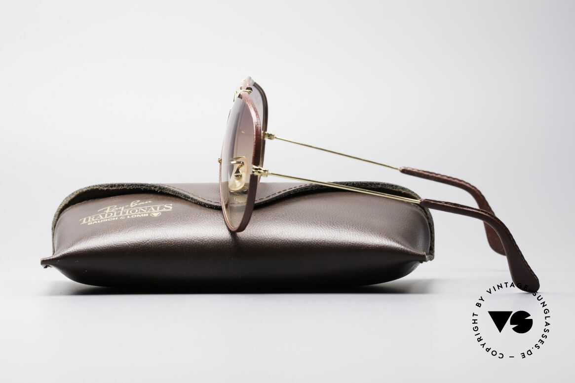 Ray Ban Shooter USA Leathers Sunglasses