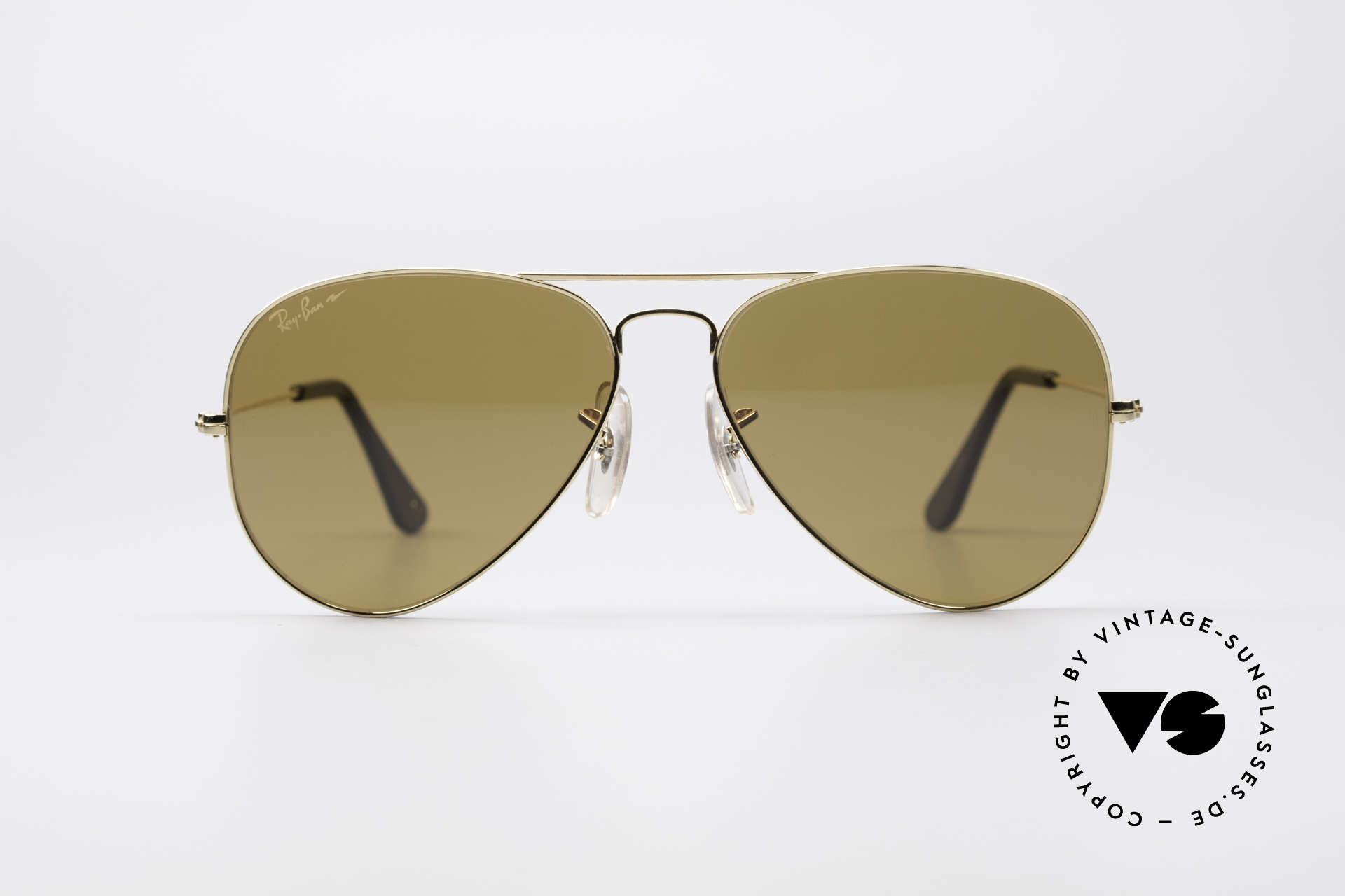 Ray Ban Large Metal Driving Chromax, legendary 80's aviator design in high-end quality, Made for Men and Women