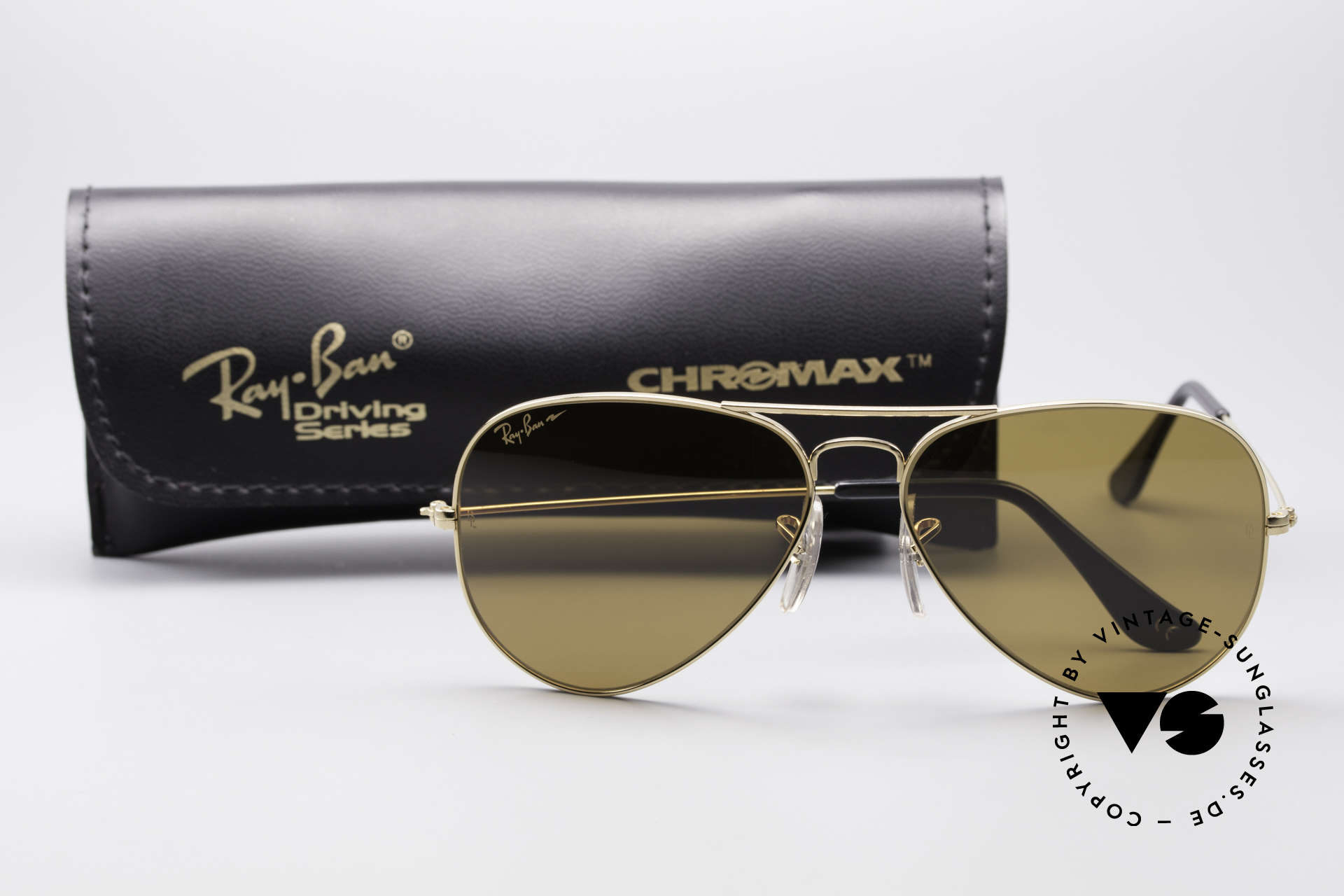 Ray Ban Large Metal Driving Chromax, Size: medium, Made for Men and Women