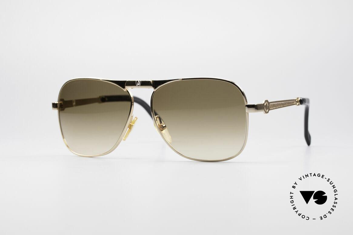 Lamborghini LT50/P 80's Folding Sunglasses, Tonino Lamborghini vintage folding sunglasses of the 80's, Made for Men