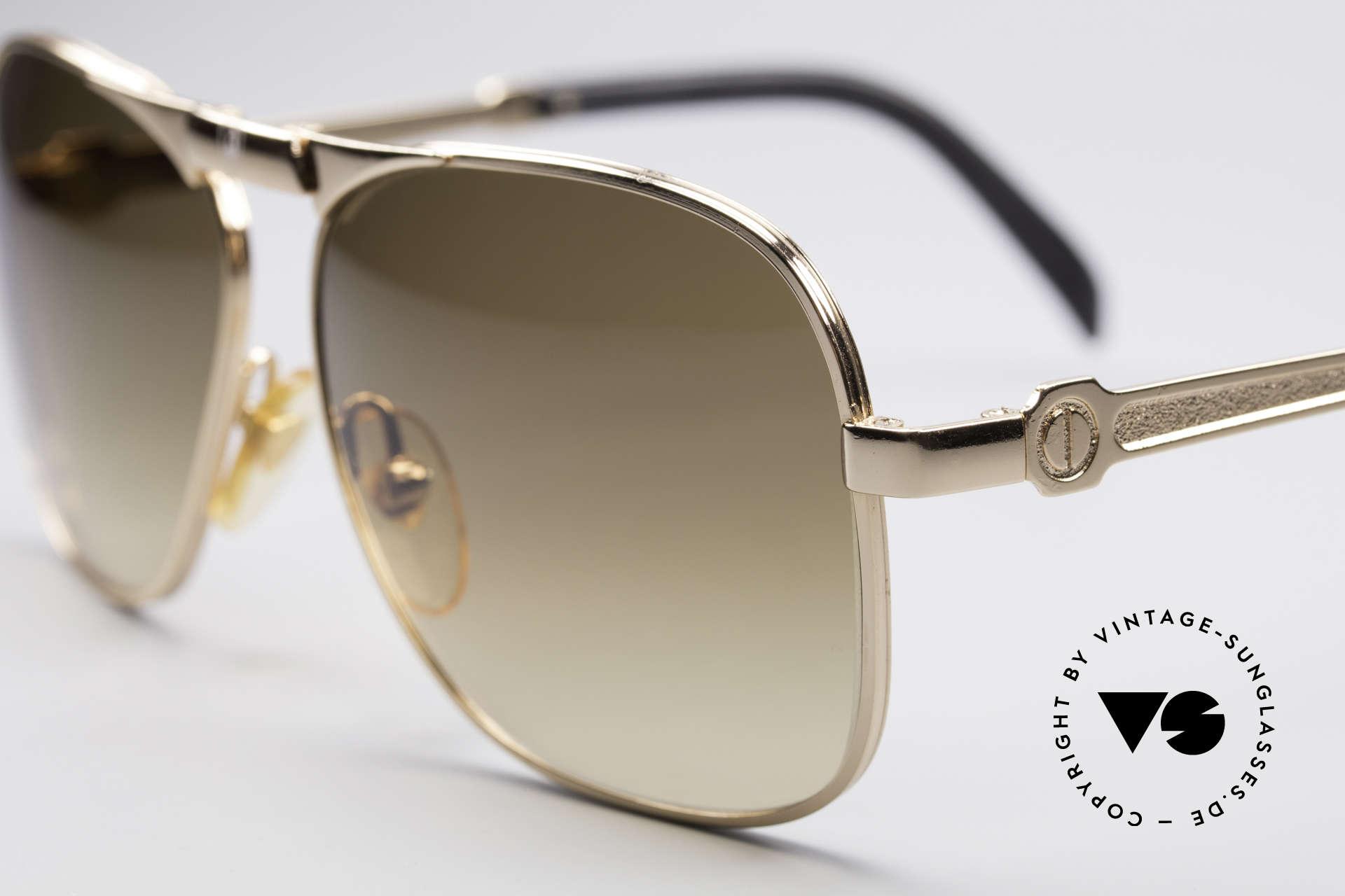 Lamborghini LT50/P 80's Folding Sunglasses, Nannini cooperation (producer for high tech racing glasses), Made for Men