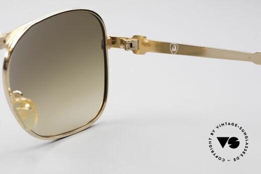 Lamborghini LT50/P 80's Folding Sunglasses, NO RETRO sunglasses, but genuine old vintage commodity!, Made for Men