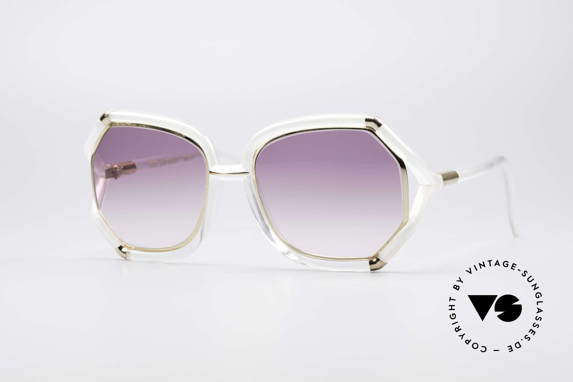 Ted Lapidus B08 70's Designer Sunglasses, lovely vintage sunglasses by Ted Lapidus of the 70's, Made for Women