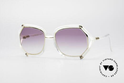 Ted Lapidus B08 70's Designer Sunglasses Details